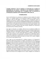 Acuerdo de levantamiento de plazos a sujetos obligados con actividades relativas a la contingencia