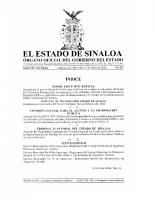 Acuerdo para garantizar la protección de datos personales por Covid 19, Periódico Oficial del Estado