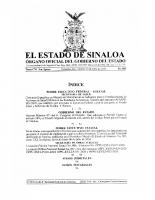 Convenio Específico en Materia de Ministración de Subsidios para el Fortalecimiento de Acciones de Salud Pública entre el Poder Ejecutivo federal y Sinaloa publicado el 10 de julio