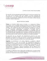 Llamado a los sujetos obligados a responder solicitudes de información relacionadas al Covid-19