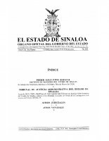 Medidas de contingencia del Tribunal de Justicia Administrativa