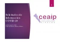 Informe de solicitudes de información sobre Covid-19 al 23 de julio