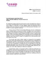 Oficio S.O. HOSPITAL CIVIL DE CULIACÁN Vo.Bo..