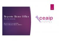 Reporte Home Office del 13 al 17 de abril