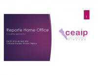 Reporte Home Office 20 a 24 de abril