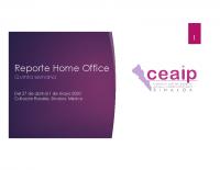 Reporte Home Office 27 abril a 1 de mayo
